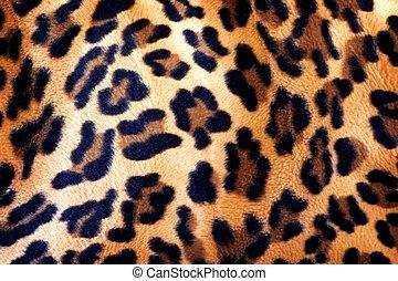 パターン装飾された, ジャガー, 生地, 手ざわり