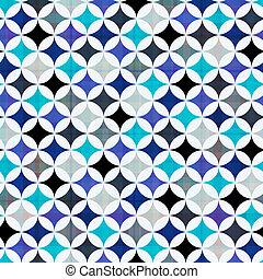 パターン, カラフルである, seamless, 幾何学的