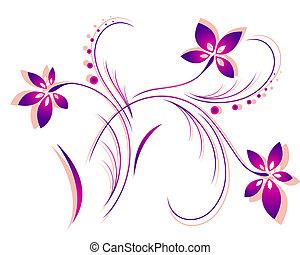 パターン, ベクトル, 花
