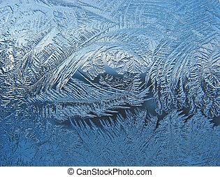 パターン, 凍りつくほどである, 窓ガラス