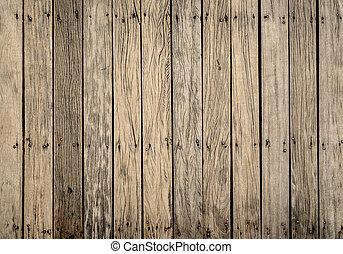 パターン, 木製である, 古い橋, 床