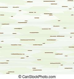 パターン, 樹皮, seamless, シラカバ