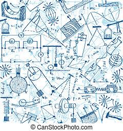 パターン, 物理学, seamless