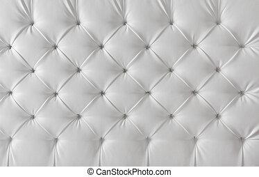 パターン, 背景, 手ざわり, 家具製造販売業, ソファー, 革, 白