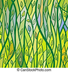 パターン, 葉