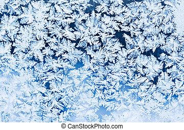 パターン, 霜