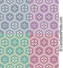 パターン, seamless, 日本語