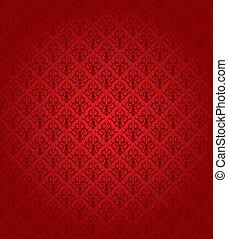 パターン, (wallpaper), seamless, 赤