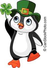 パトリック, ペンギン, 祝う, 聖者, da