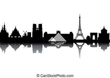 パリ, スカイライン