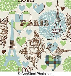 パリ, パターン, seamless