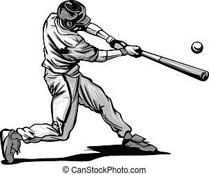 ヒッティング, 野球のねり粉, vecto, ピッチ