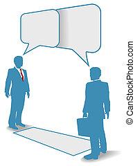 ビジネス 人々, コミュニケーション接続, 会いなさい, 話