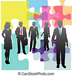 ビジネス 人々, 困惑, 解決, 人間, 問題, 資源