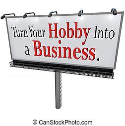 ビジネス 印, 回転, 広告板, 趣味, あなたの