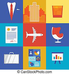 ビジネス, 富, イラスト