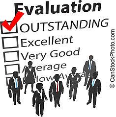 ビジネス, 最も良く, 人間, チーム, 評価, 資源