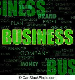 ビジネス, 背景