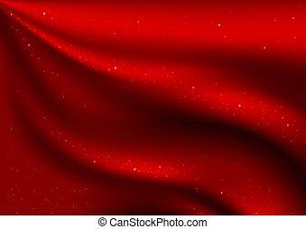 ビロード, 赤, 星