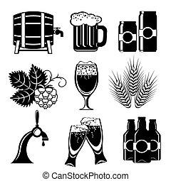 ビール, アイコン