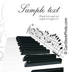 ピアノ, 背景