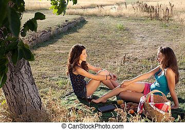 ピクニック, ガールフレンド