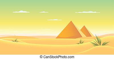 ピラミッド, エジプト人