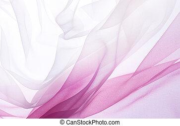 ピンク, シフォン