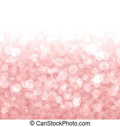 ピンク, 活気に満ちた, ライト, bokeh, 赤い背景, ∥あるいは∥, blurry