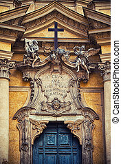 ファサド, ローマ, 教会