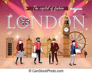 ファッション, ロンドン, 資本