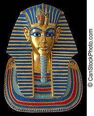 ファラオ, 古代, マスク, 金, エジプト人