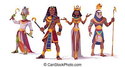 ファラオ, amun, osiris, エジプトの神, cleopatra
