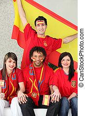 ファン, サッカー, スペイン語