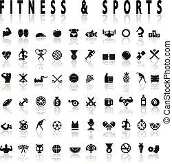 フィットネス, スポーツアイコン