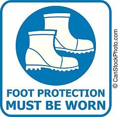 フィートの保護, 印, icon), (safety