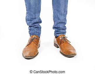 フィート, 靴