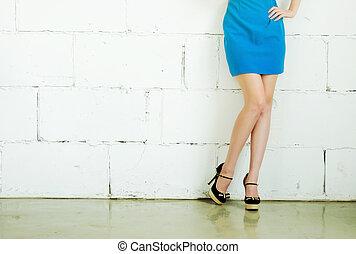 フィート, 靴, 女性