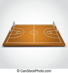 フィールド, ゆとり, バスケットボール
