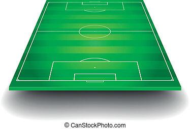 フィールド, サッカー, 見通し