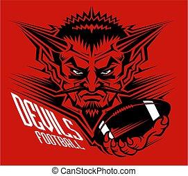 フットボール, 悪魔