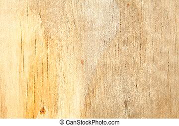 フルのフレーム, 汚された, の上, 黄色, 水, 木穀粒, 終わり