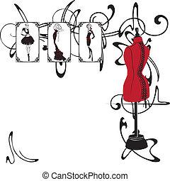 フレーム, ファッション意匠