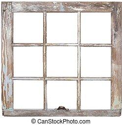 フレーム, 窓