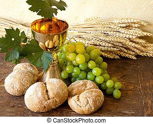 ブドウ, 神聖, ワイン