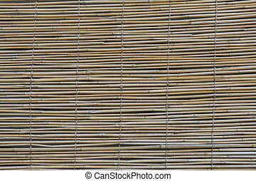 ブラインド, パターン, 竹, 背景