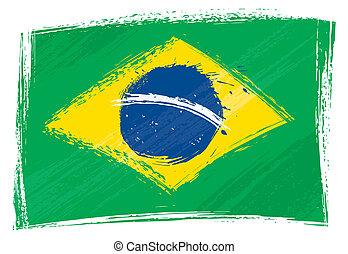 ブラジル, グランジ, 旗