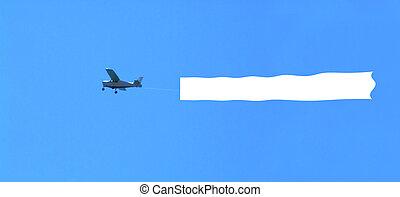 ブランク, 飛行機, 区域