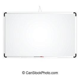 ブランク, whiteboard, スペース
