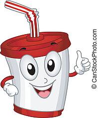 プラスチックのカップ, マスコット